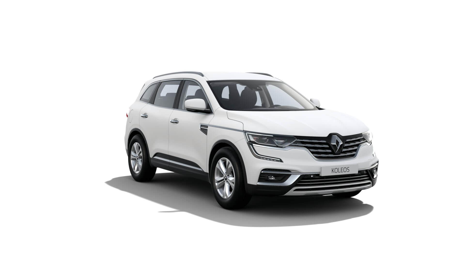 Automodell weiß - Renault Koleos - Renault Ahrens Hannover