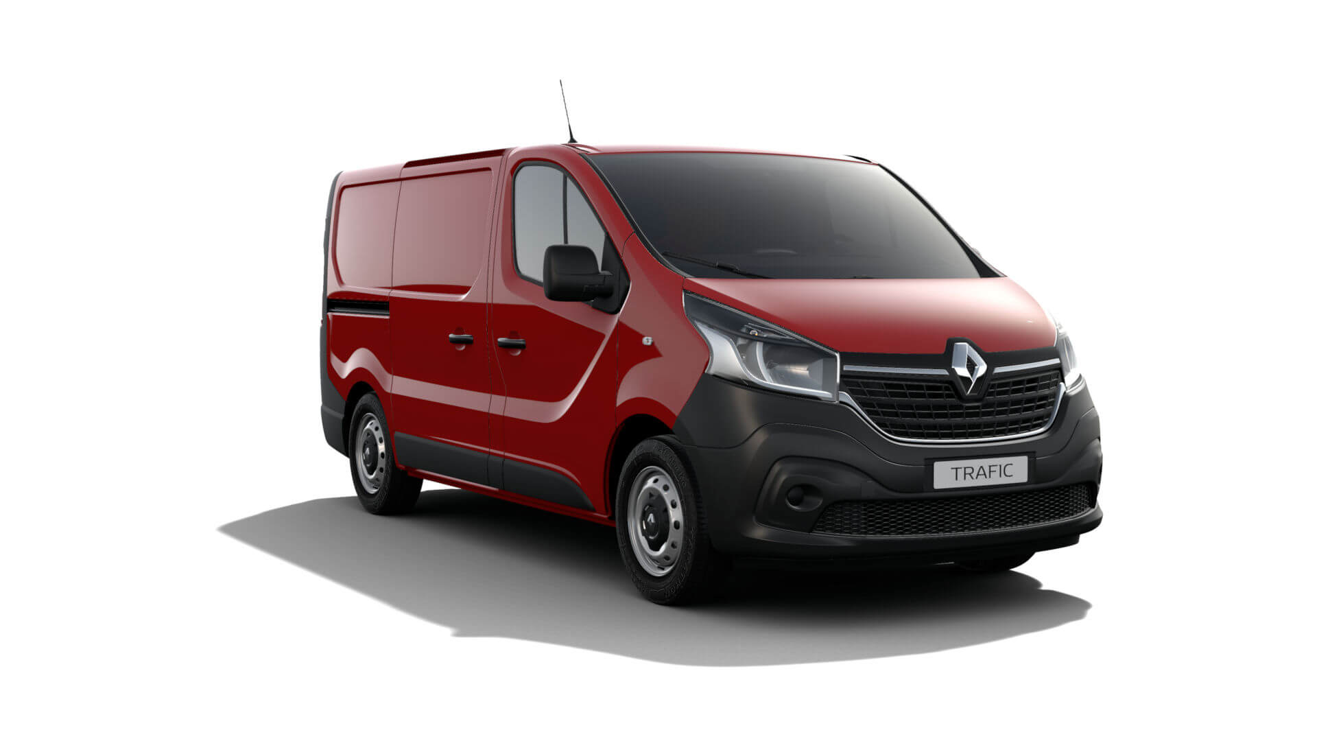 Automodell Sprinter Rot - Renault NFZ Trafic - Renault Ahrens Hannover