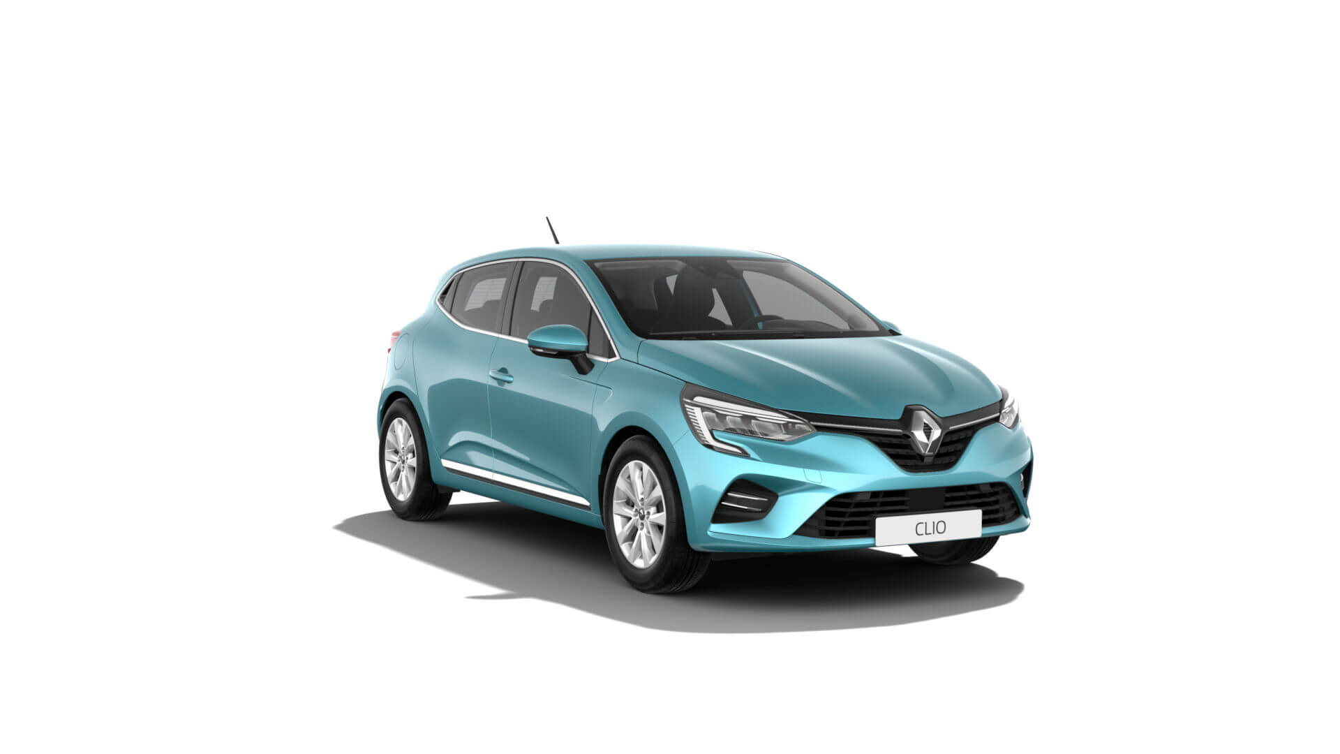 Automodell türkis - Renault Clio - Renault Ahrens Hannover