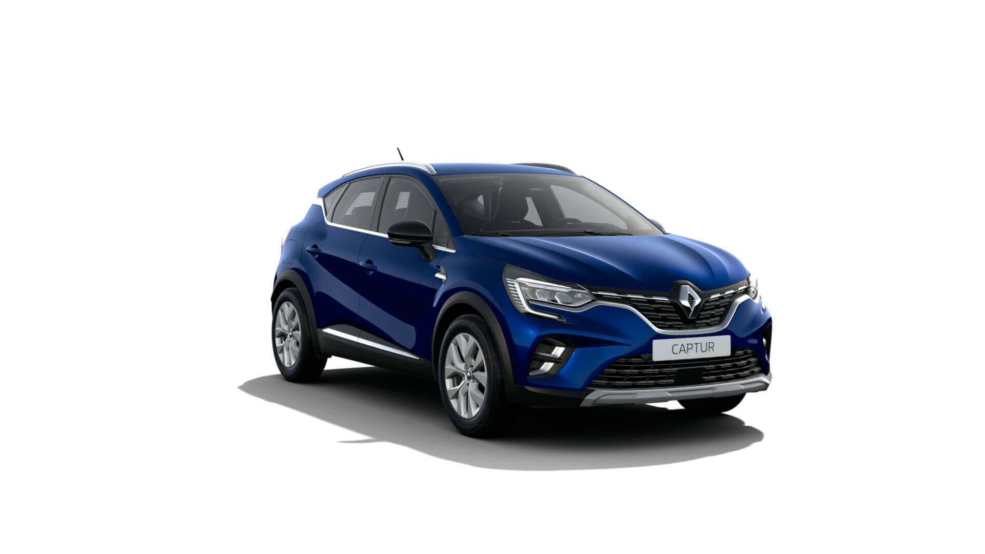 Automodell blau - Renault Captur - Renault Ahrens Hannover