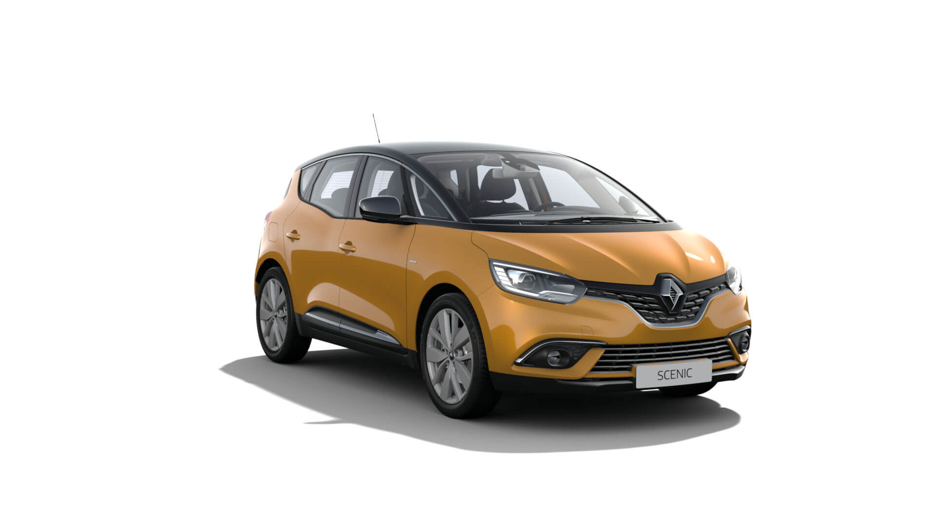 Automodell senfgelb - Renault Scenic - Renault Ahrens Hannover