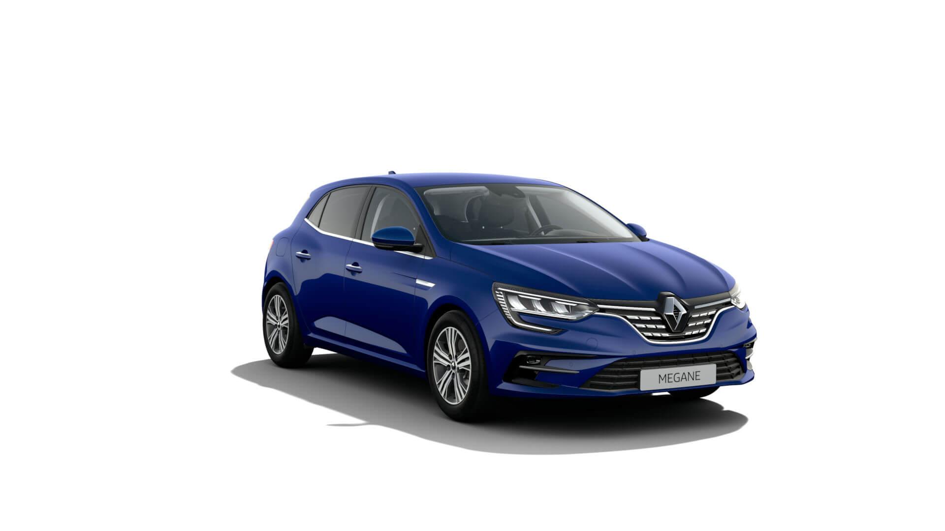 Automodell blau - Renault Megane - Renault Ahrens Hannover