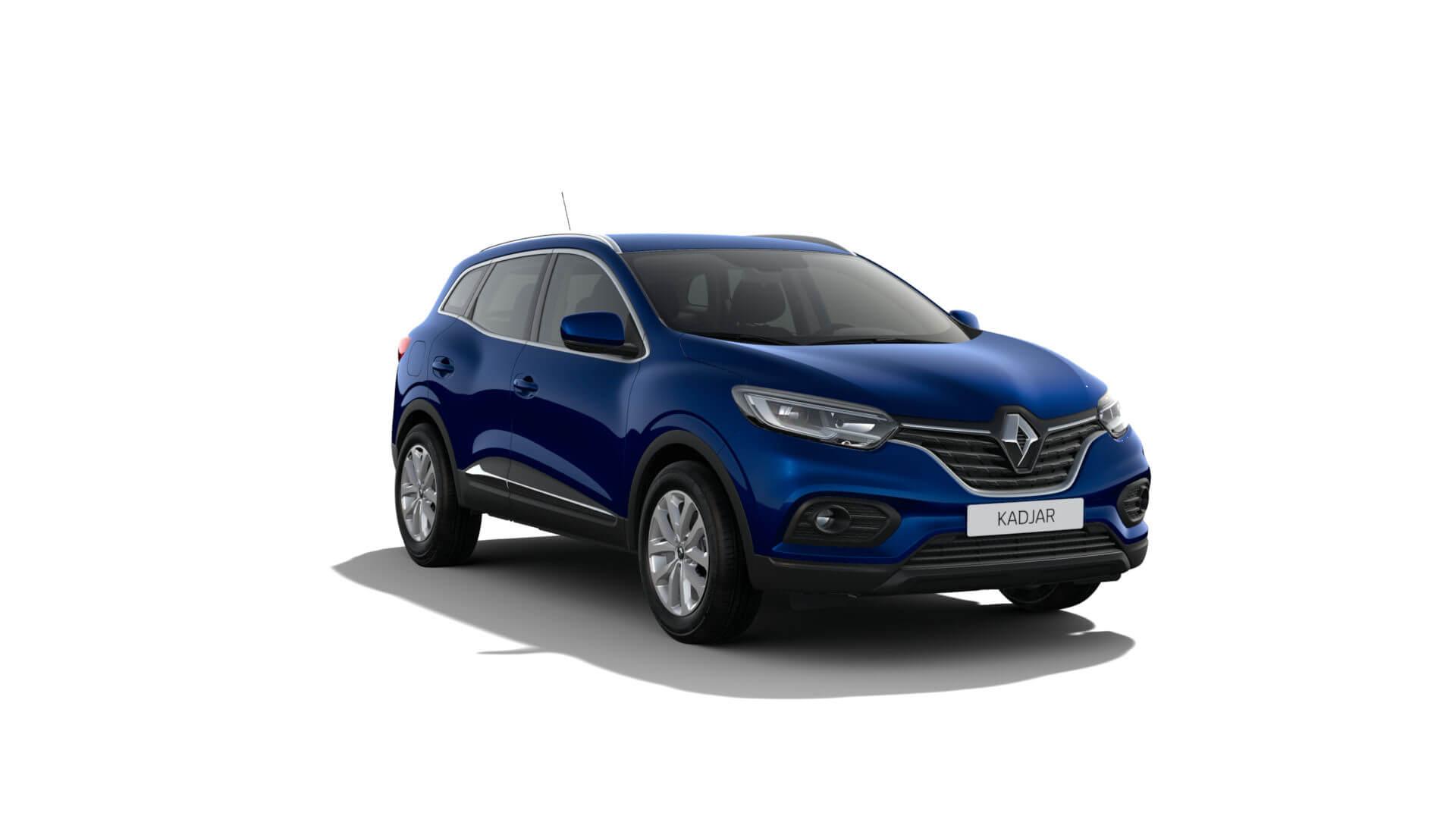 Automodell blau - Renault Kadjar - Renault Ahrens Hannover