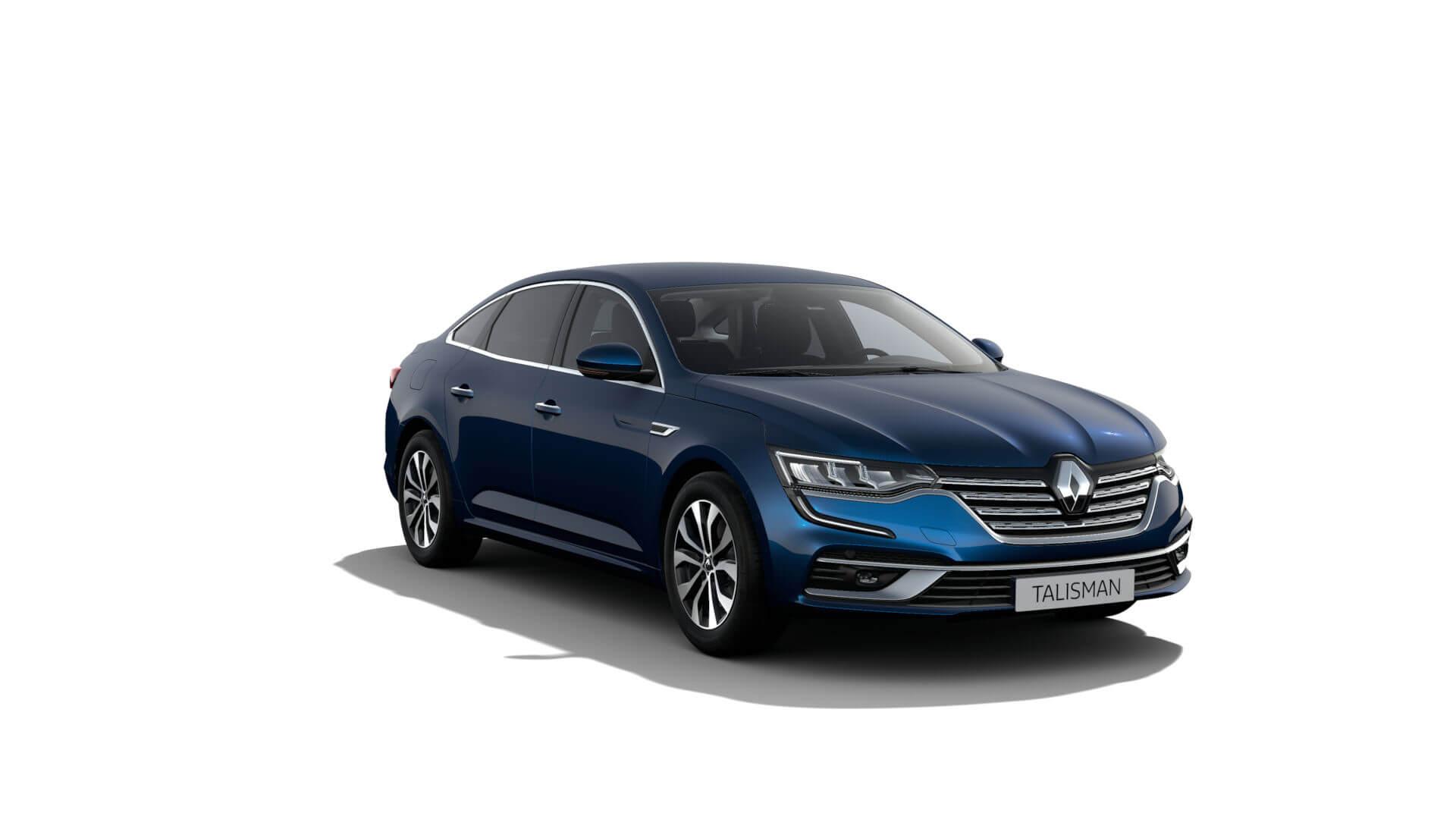 Automodell blau - Renault Talisman - Renault Ahrens Hannover