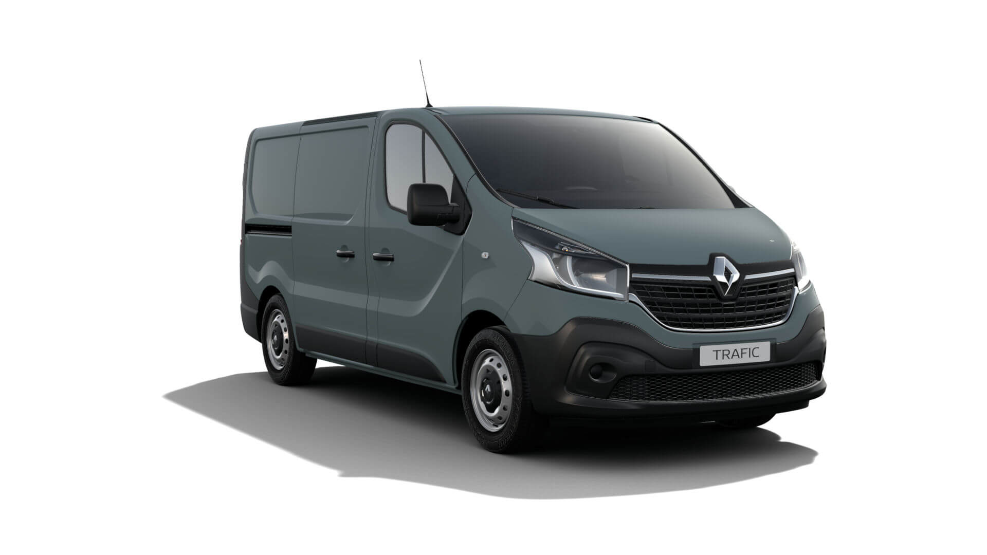 Automodell Sprinter graublau - Renault NFZ Trafic - Renault Ahrens Hannover