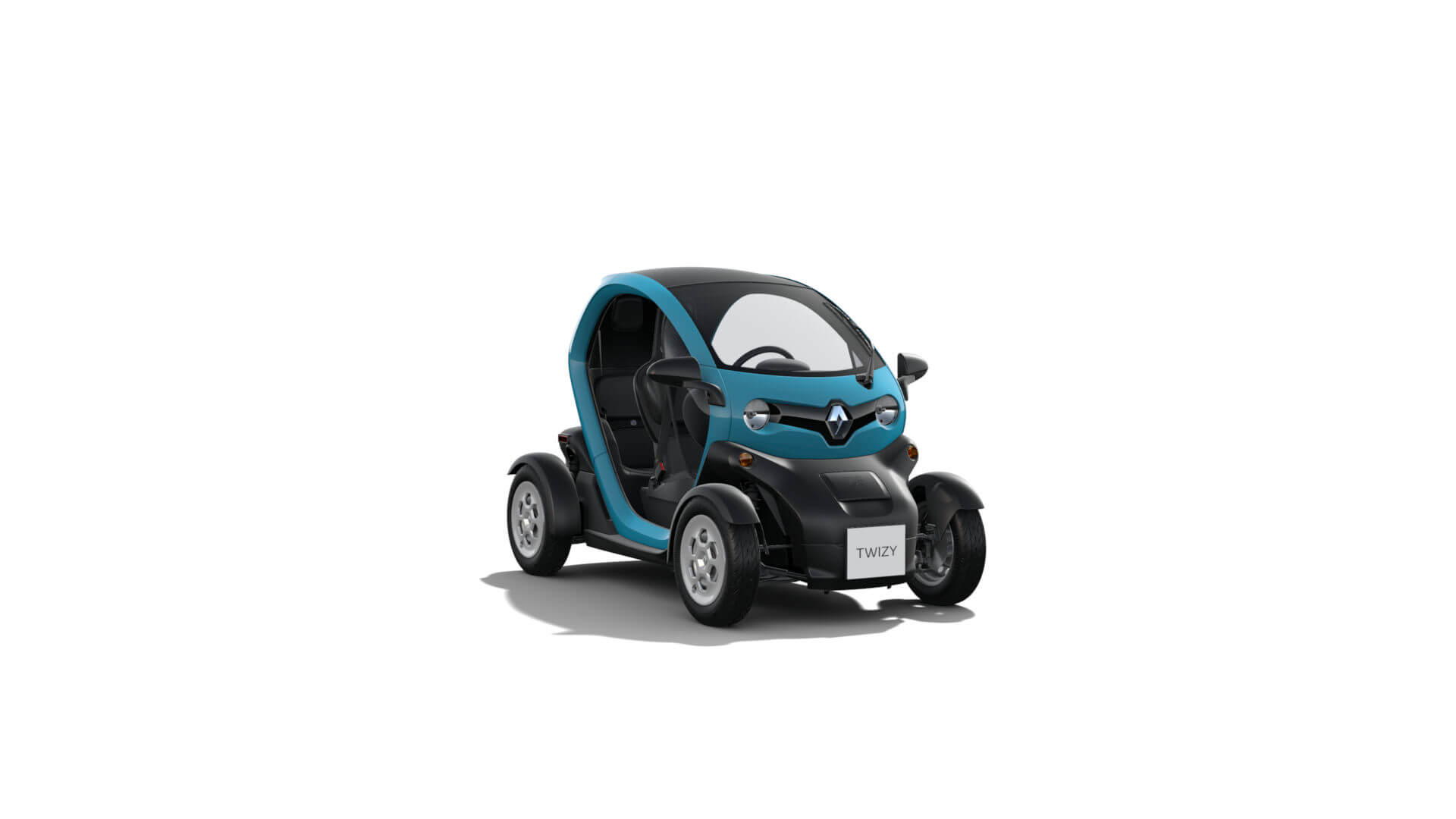 Automodell türkis - Renault Twizy - Renault Ahrens Hannover