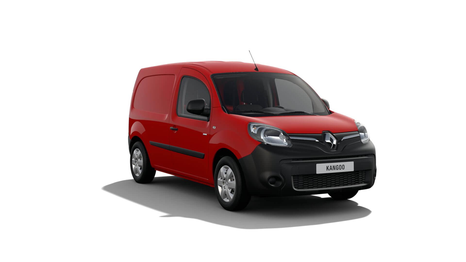 Automodell rot - Renault Kangoo NFZ - Renault Ahrens Hannover