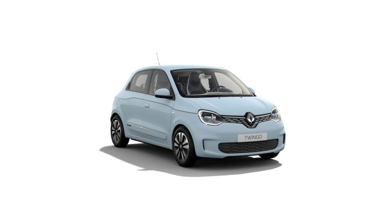 Automodell Hellblau - Renault Twingo - Renault Ahrens Hannover