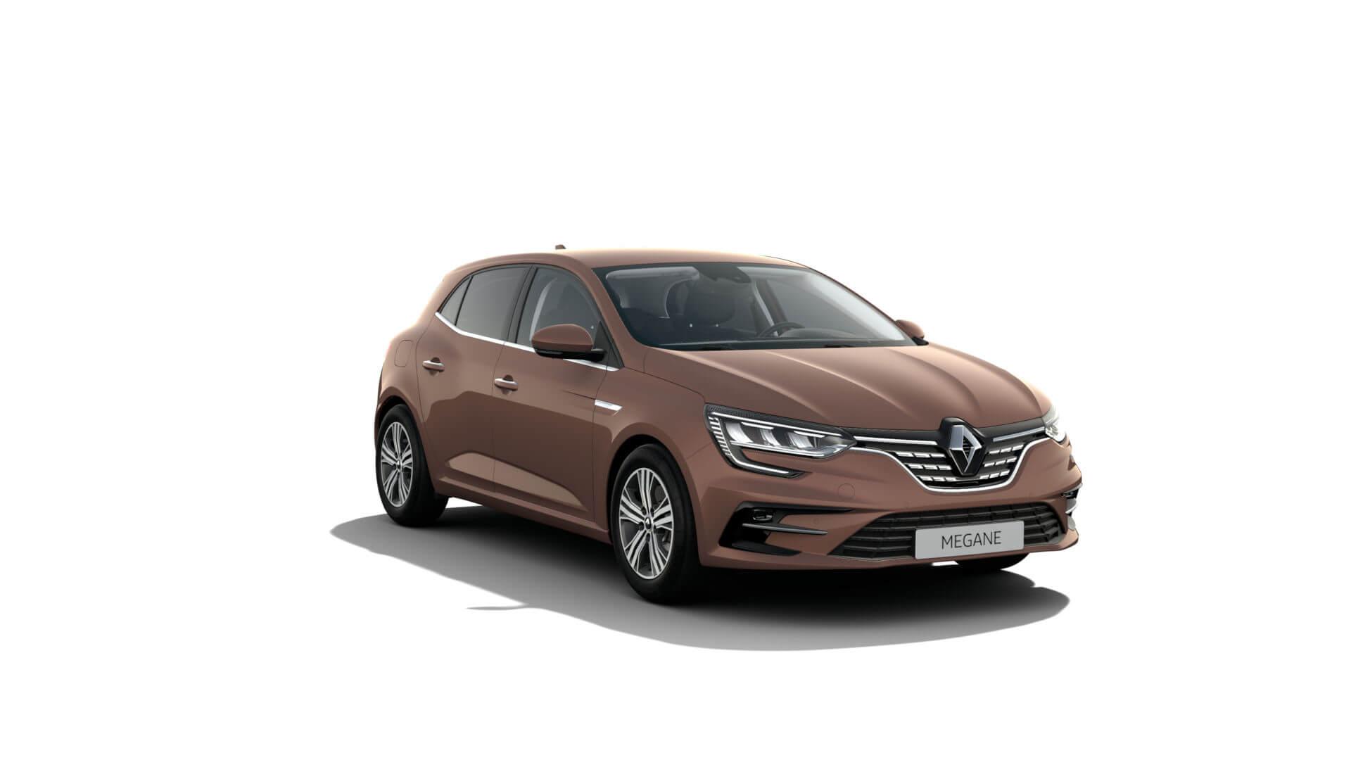 Automodell braun - Renault Megane - Renault Ahrens Hannover