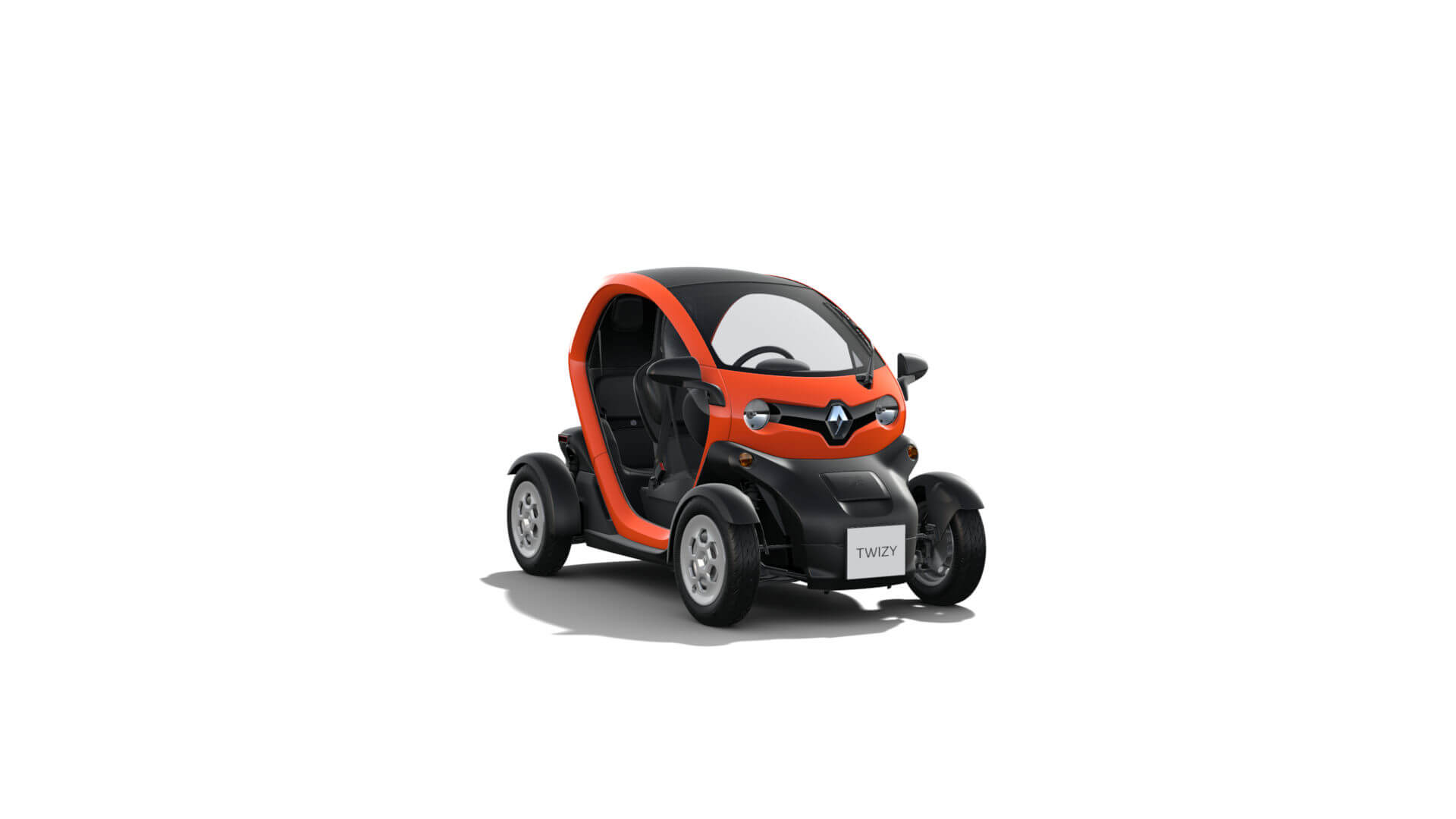 Automodell orange - Renault Twizy - Renault Ahrens Hannover