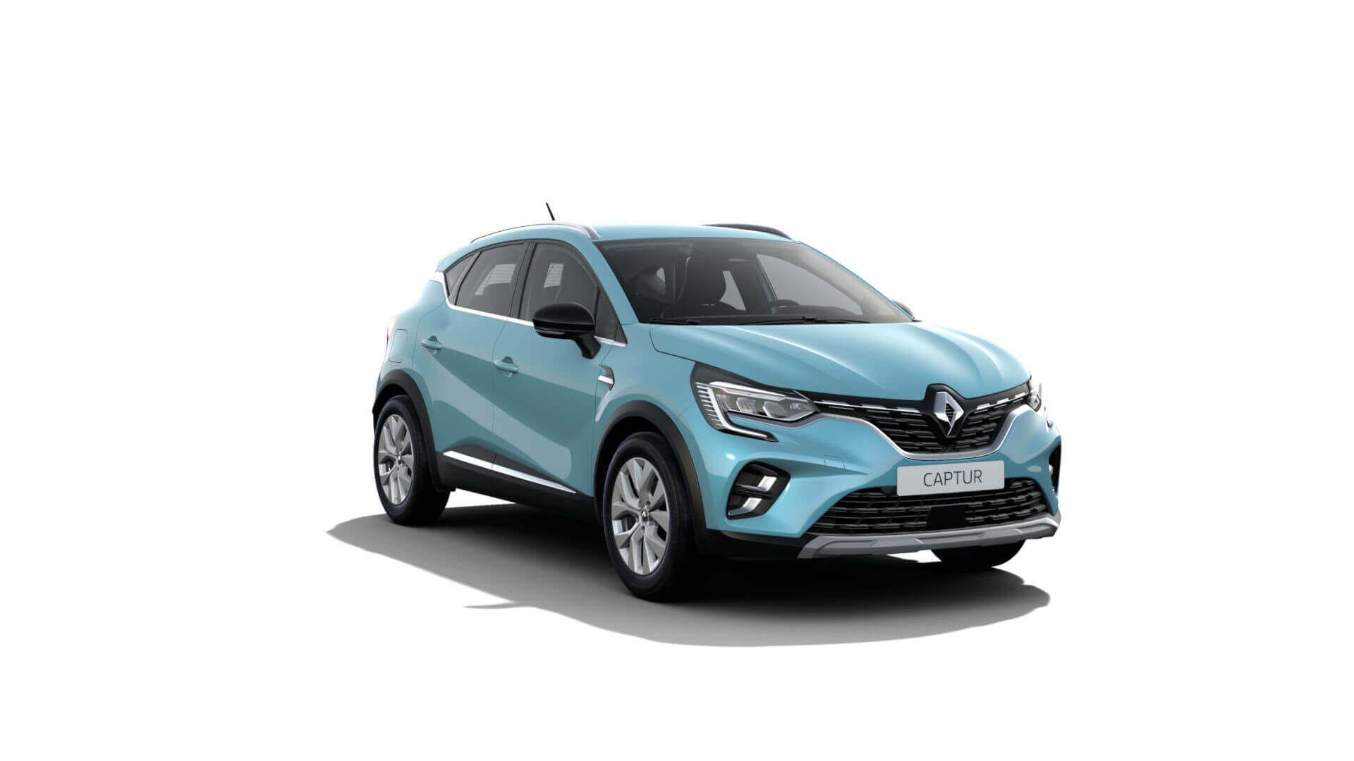 Automodell türkis - Renault Captur - Renault Ahrens Hannover