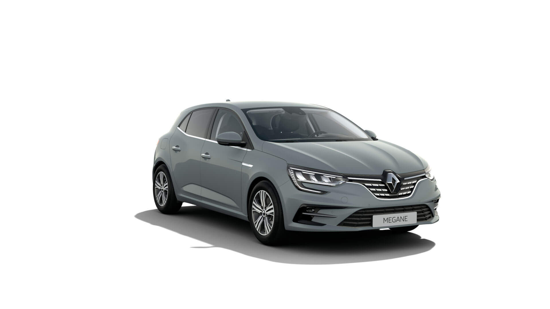 Automodell graugrün - Renault Megane - Renault Ahrens Hannover