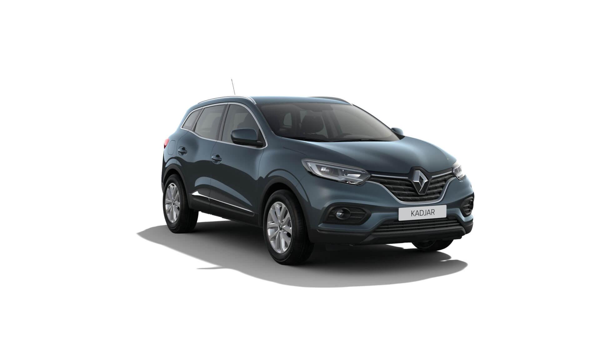 Automodell blaugrau - Renault Kadjar - Renault Ahrens Hannover
