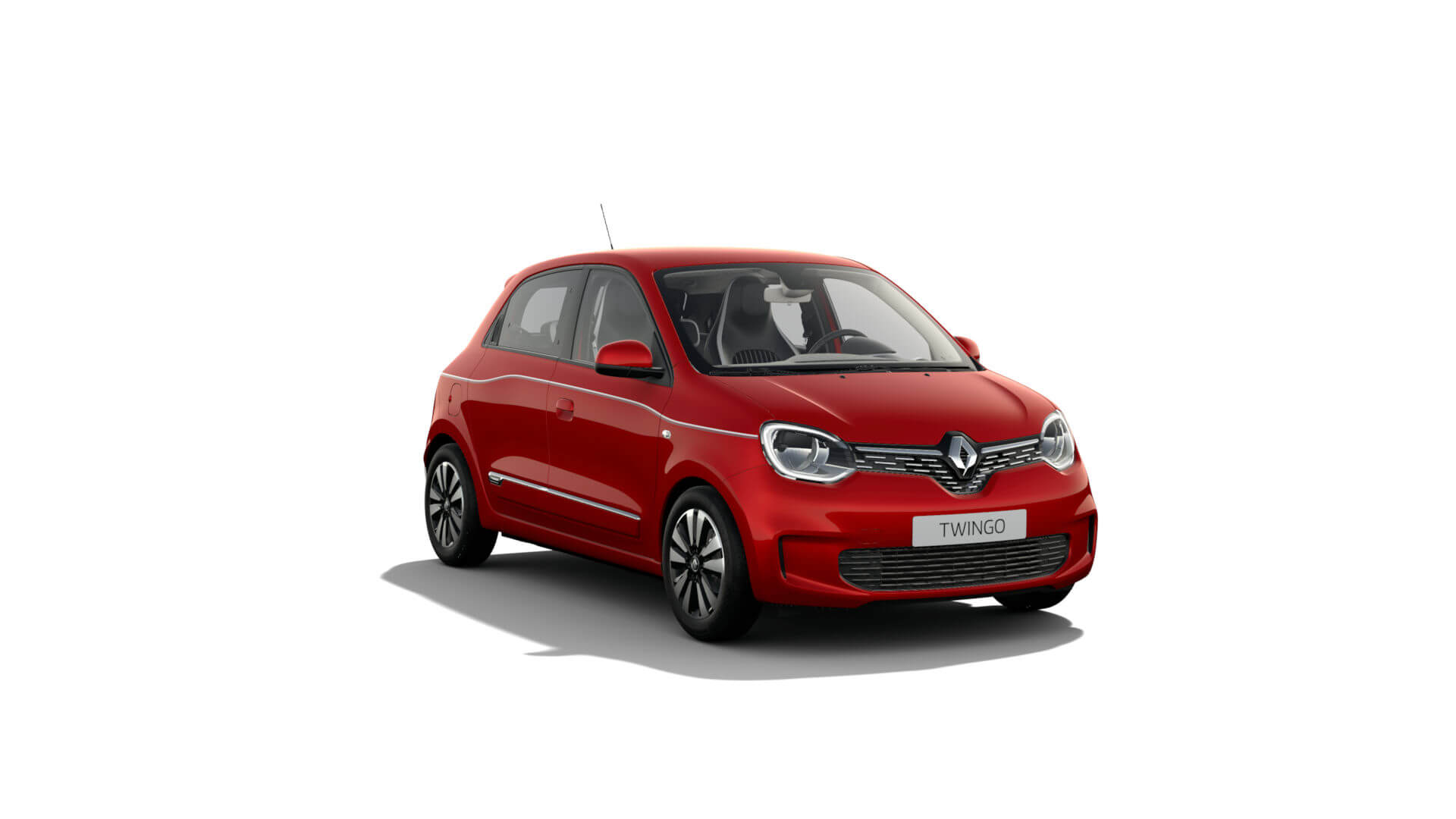 Automodell Rot - Renault Twingo - Renault Ahrens Hannover