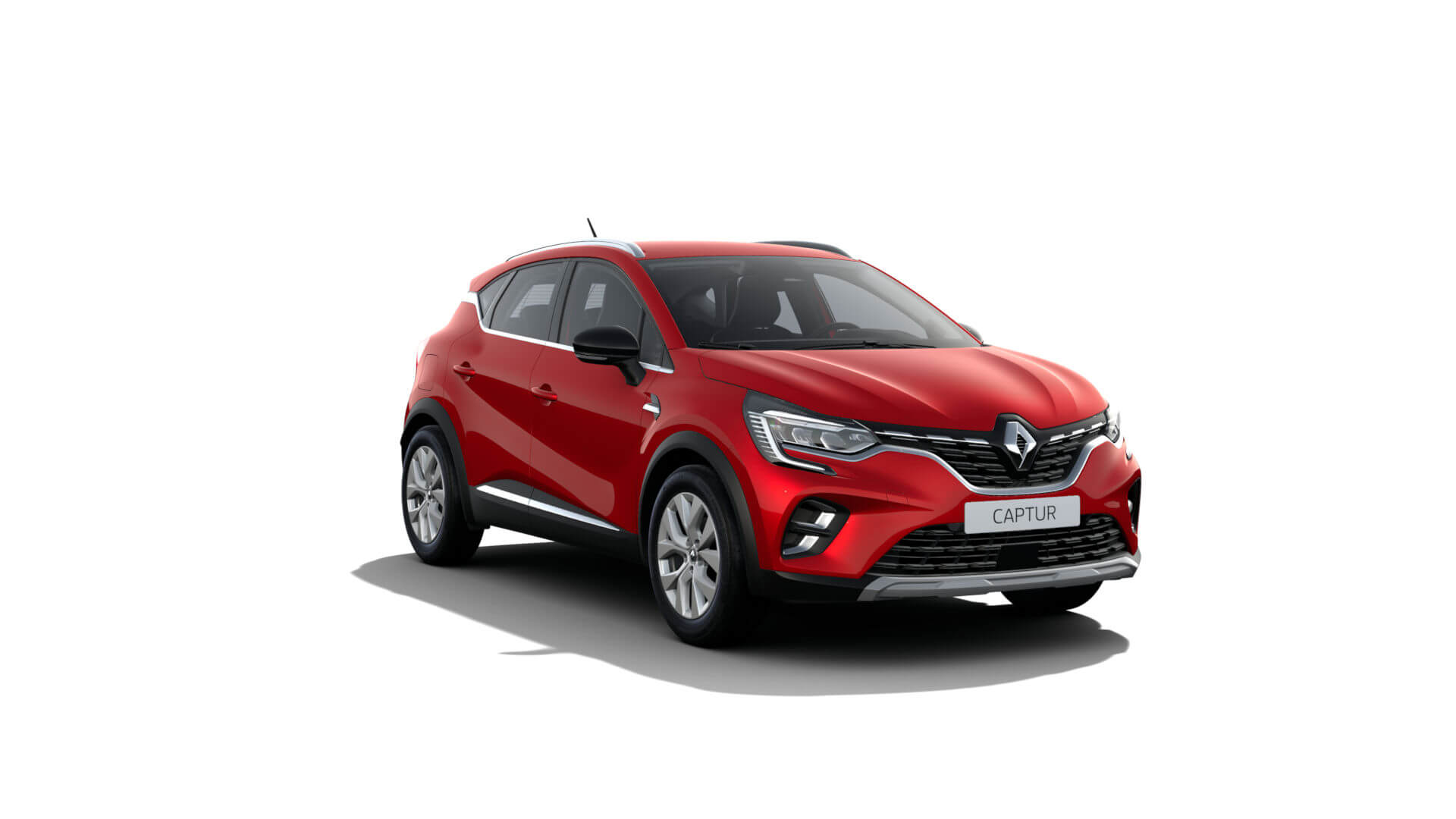 Automodell Rot - Renault Captur - Renault Ahrens Hannover