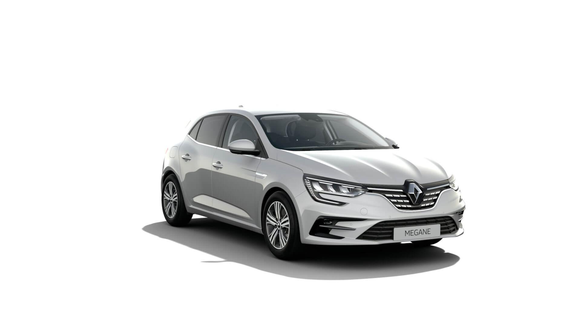 Automodell weiß - Renault Megane - Renault Ahrens Hannover
