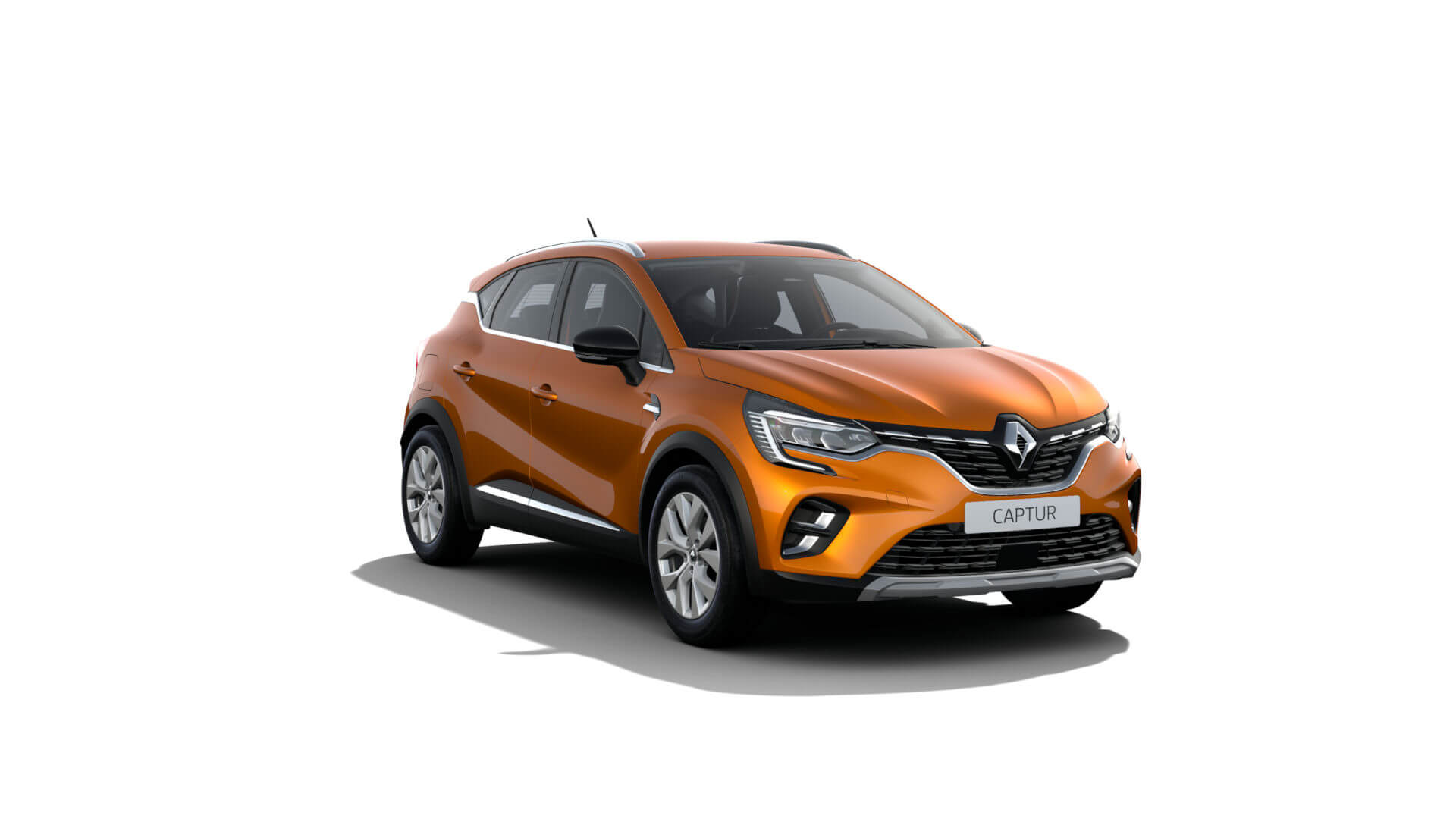 Automodell orange - Renault Captur - Renault Ahrens Hannover