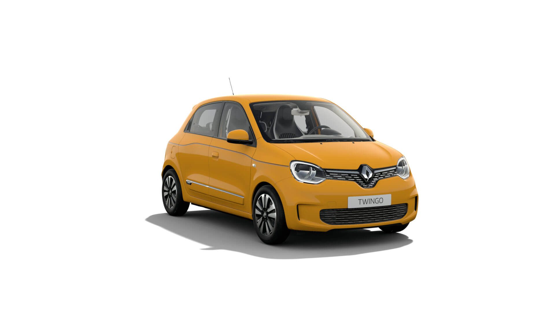 Automodell Senfgelb - Renault Twingo - Renault Ahrens Hannover