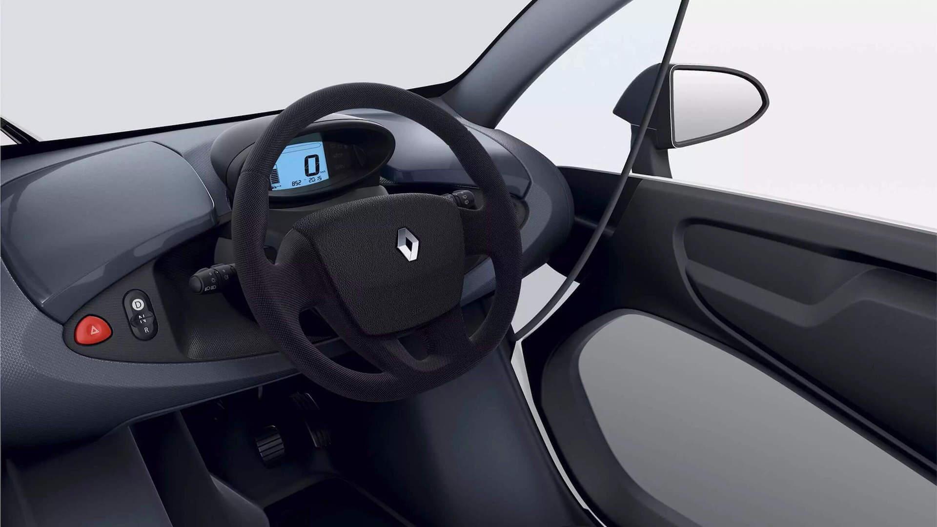 Cockpit - Autoansicht von innen - Renault Twizy - Renault Ahrens Hannover
