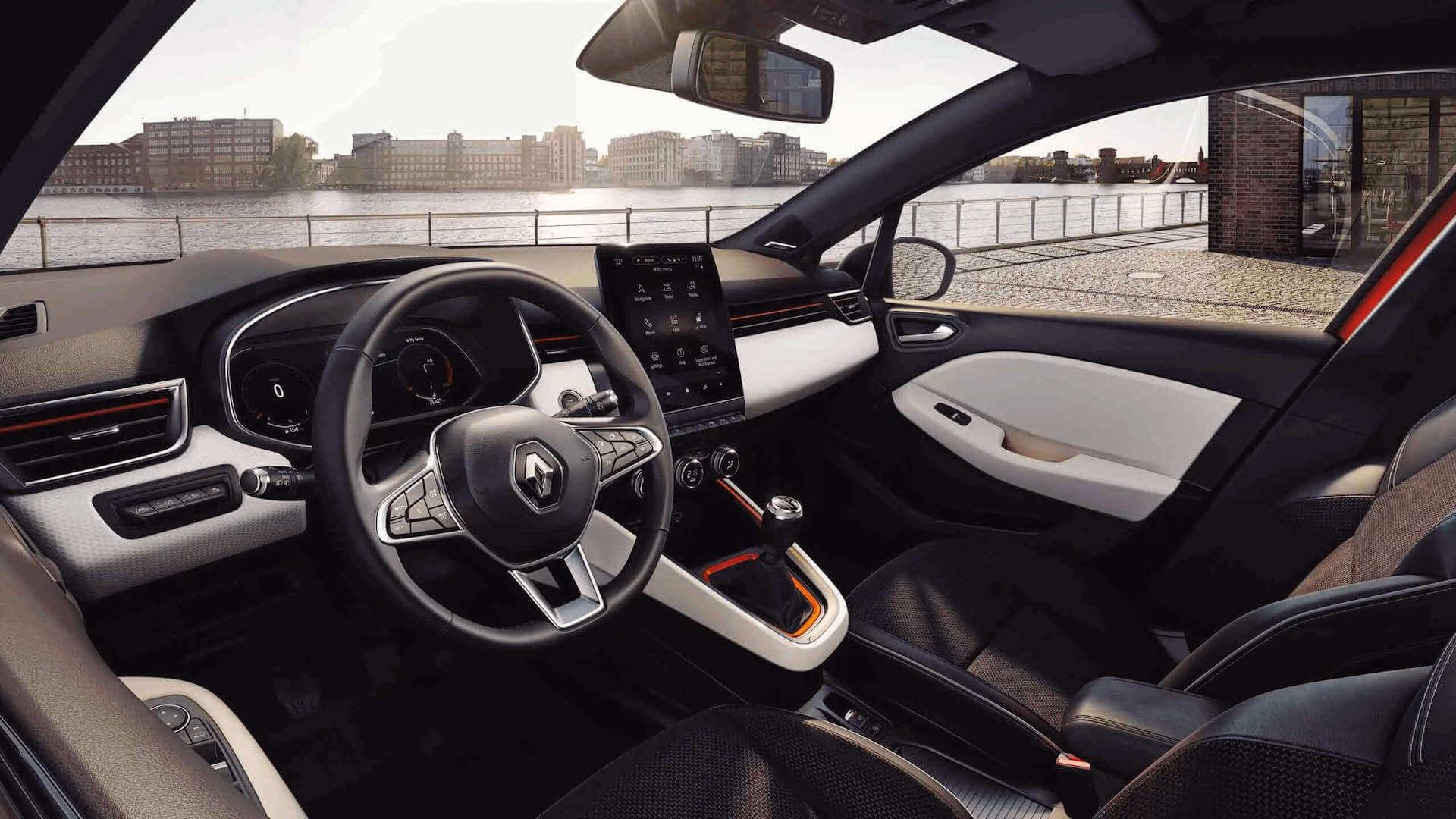 Cockpit - Auto von innen - Renault Clio - Renault Ahrens Hannover