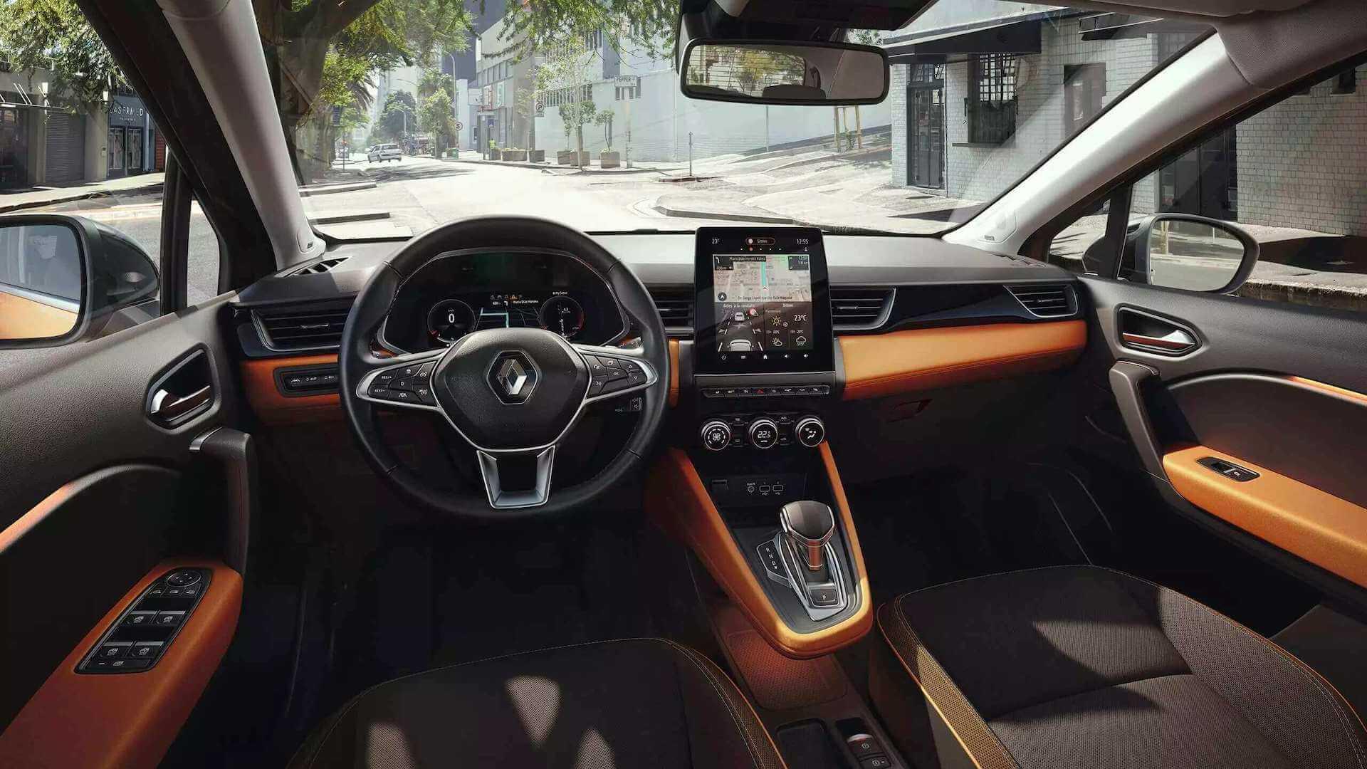 Cockpit- Autoansicht von innen - Renault Captur - Renault Ahrens Hannover