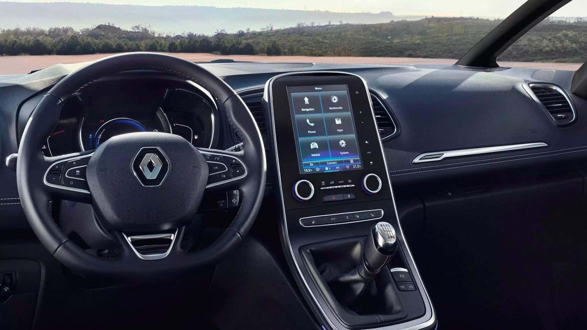 Cockpit - Auto von Innen - Renault Scenic - Renault Ahrens Hannover