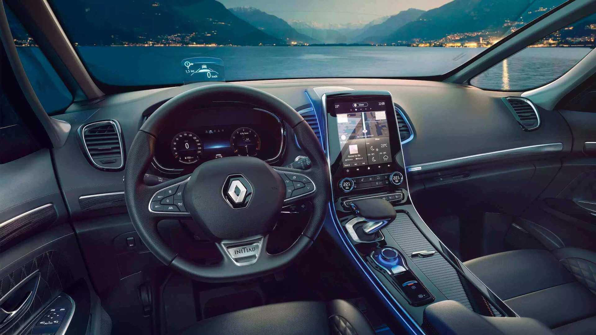 Cockpit - Innenansicht vom Auto - Renault Espace - Renault Ahrens Hannover