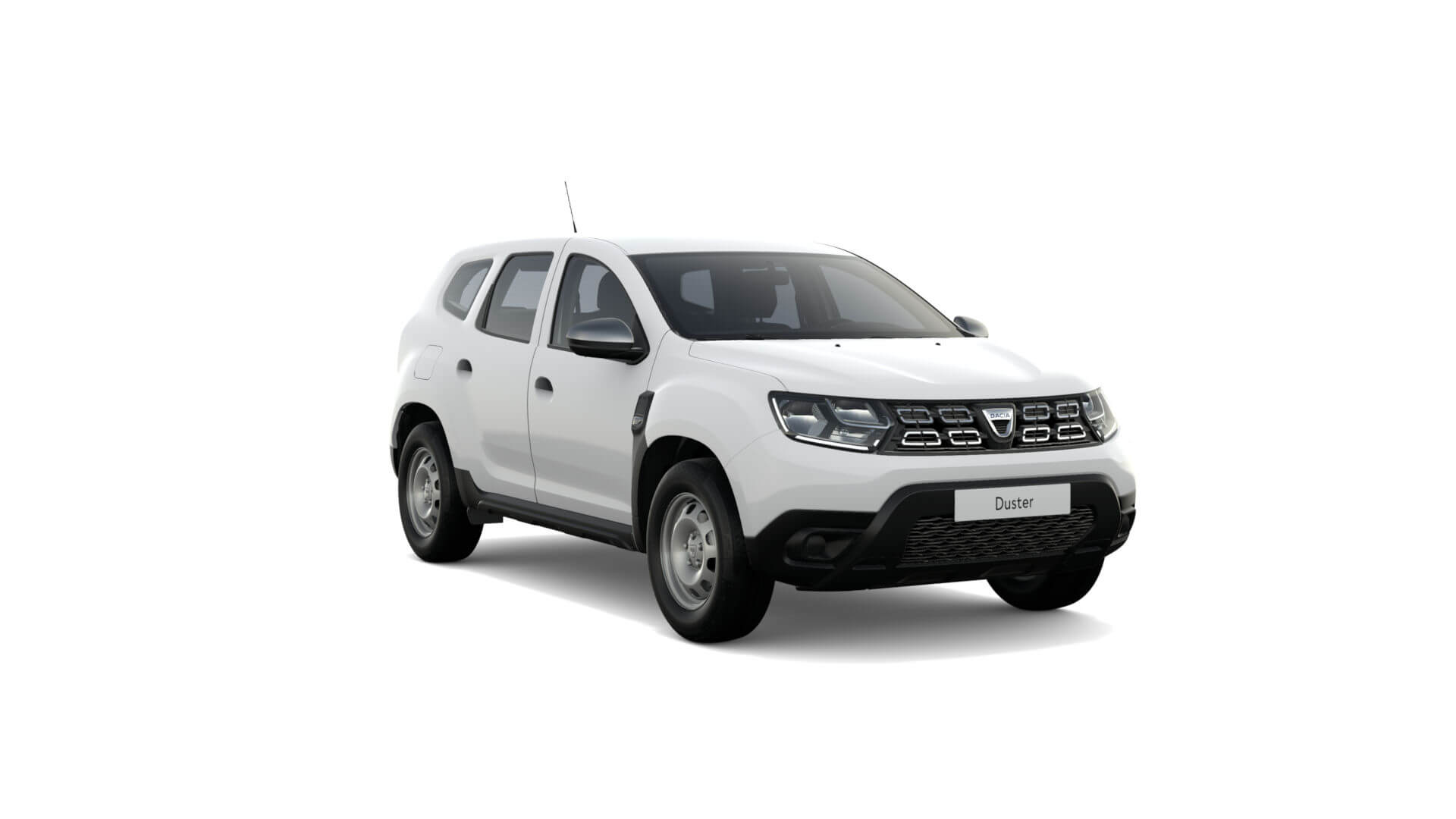 Automodell weiß - Dacia Duster NFZ - Renault Ahrens Hannover