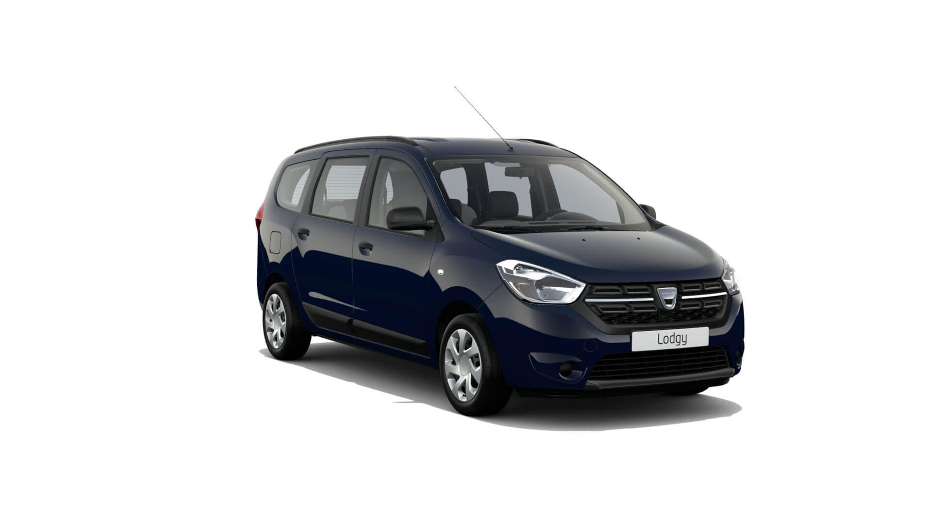 Automodell blau - Dacia Lodgy NFZ - Renault Ahrens Hannover