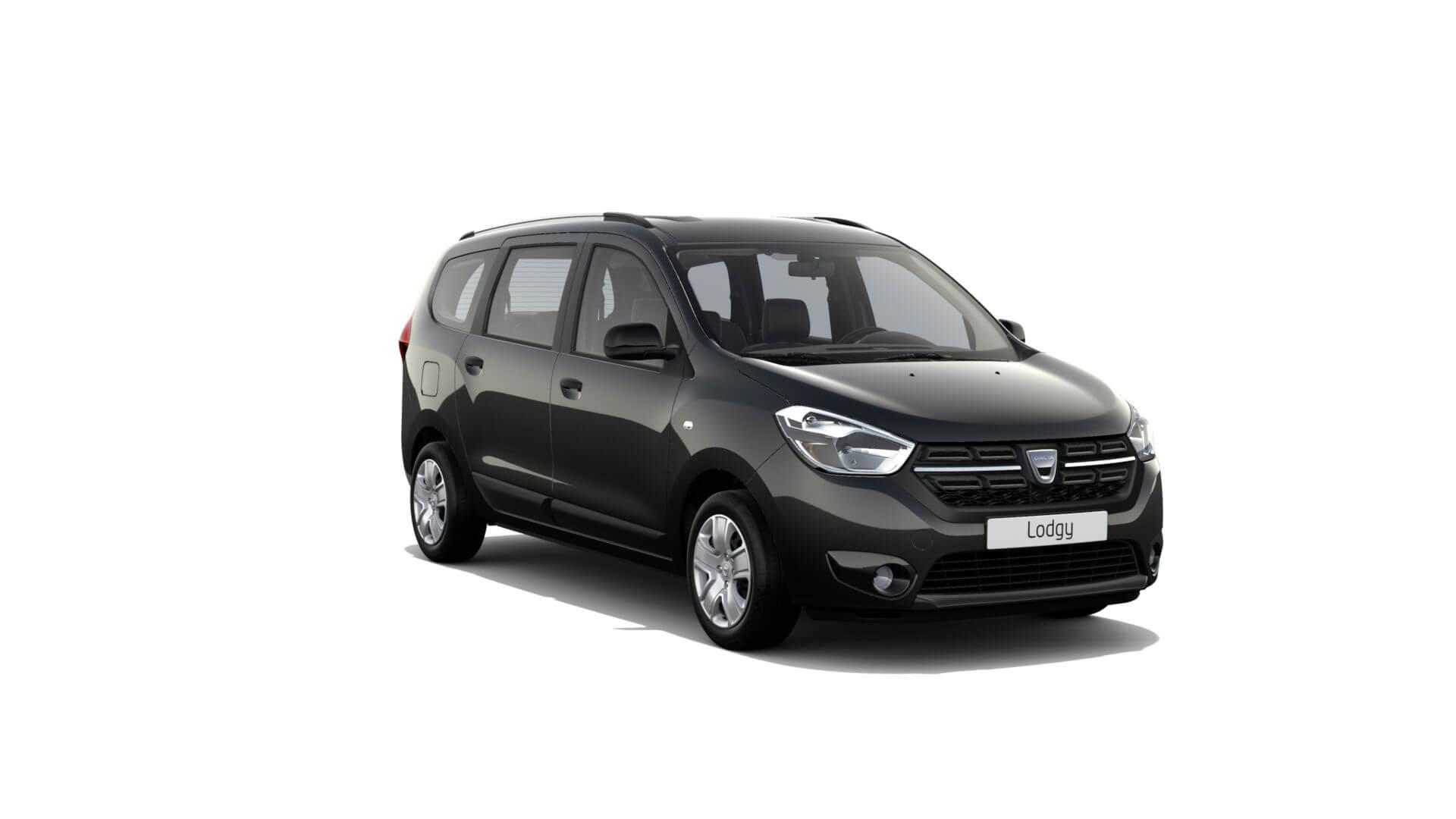 Automodell schwarz - Dacia Lodgy - Renault Ahrens Hannover