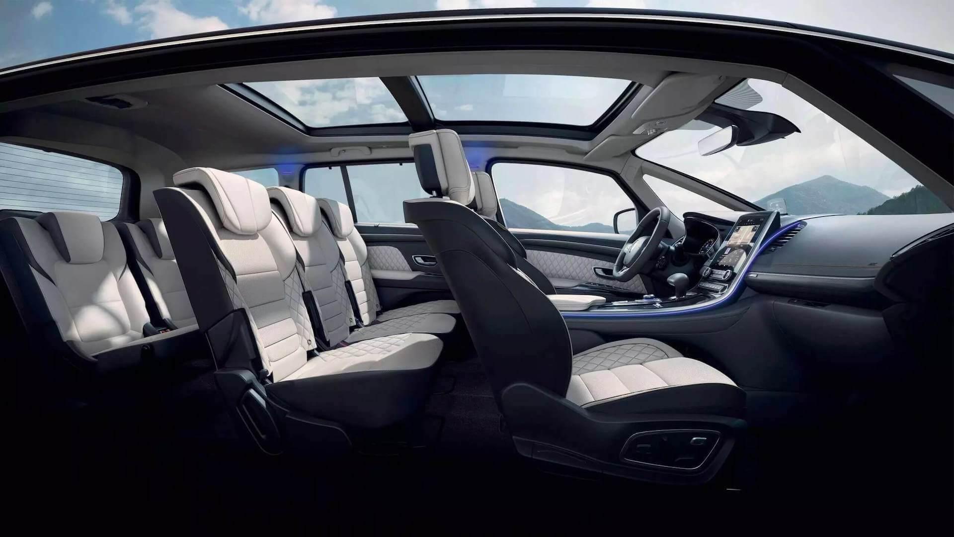 Fahrgastraum - Innenansicht vom Auto - Renault Espace - Renault Ahrens Hannover