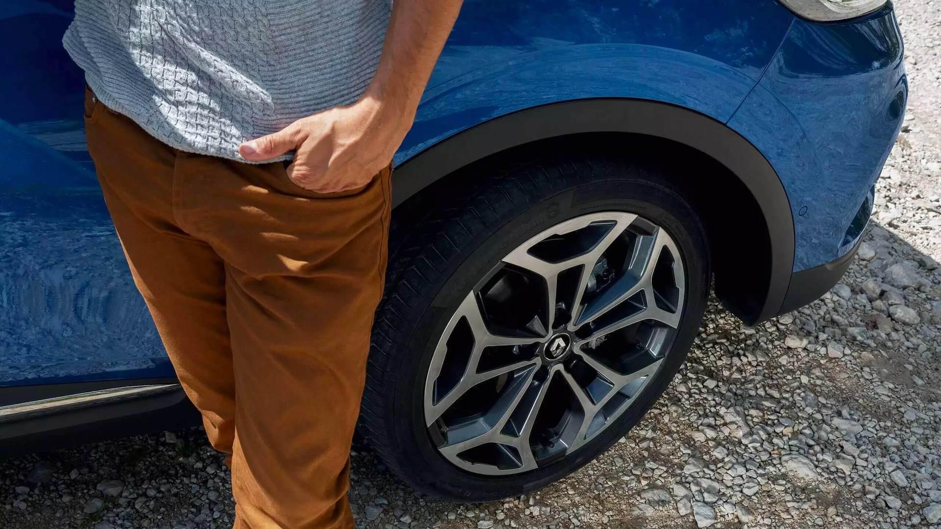 Felgen vom blauen Auto - Renault Kadjar - Renault Ahrens Hannover
