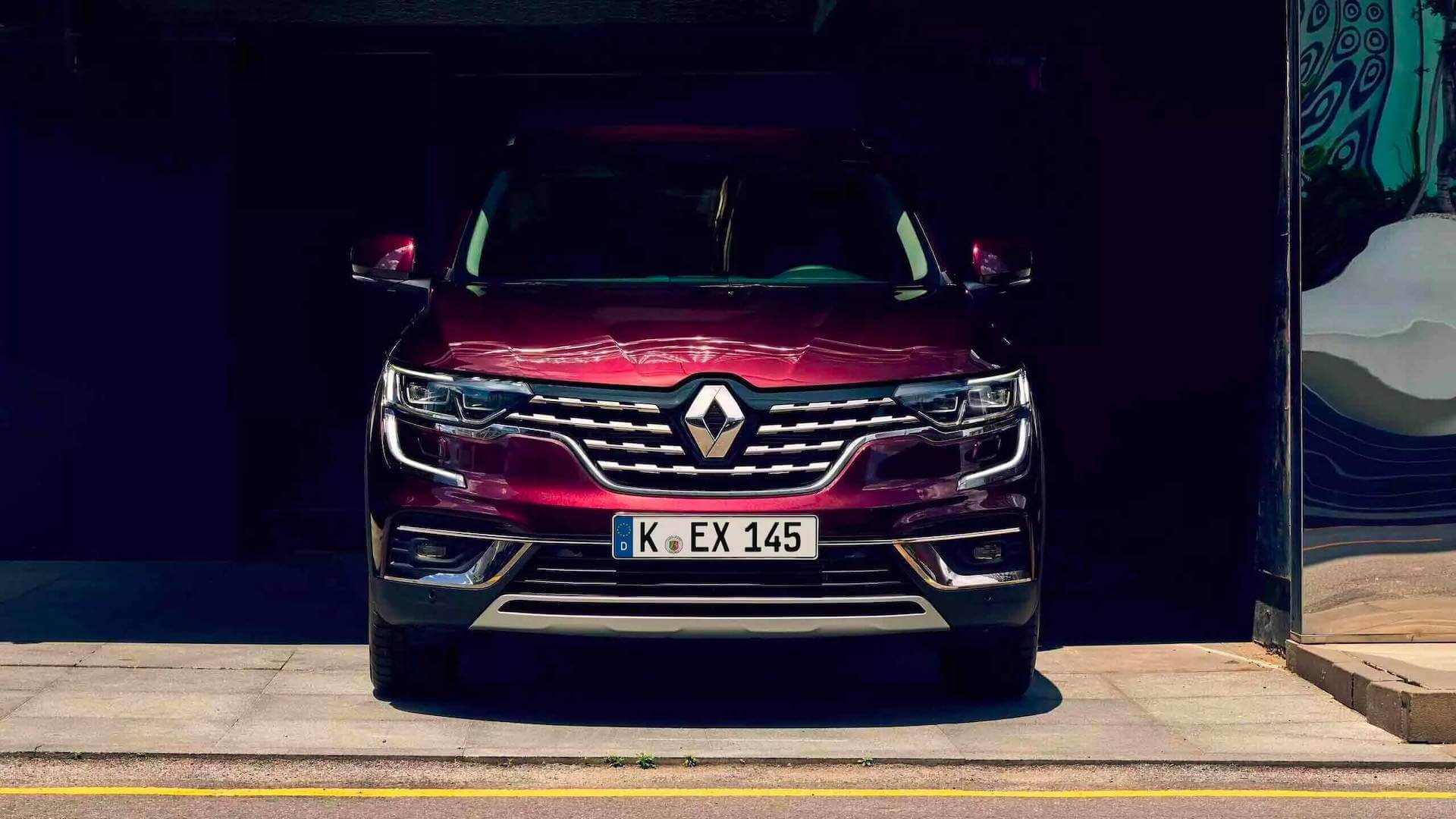Frontansicht vom roten Auto - Renault Koleos - Renault Ahrens Hannover