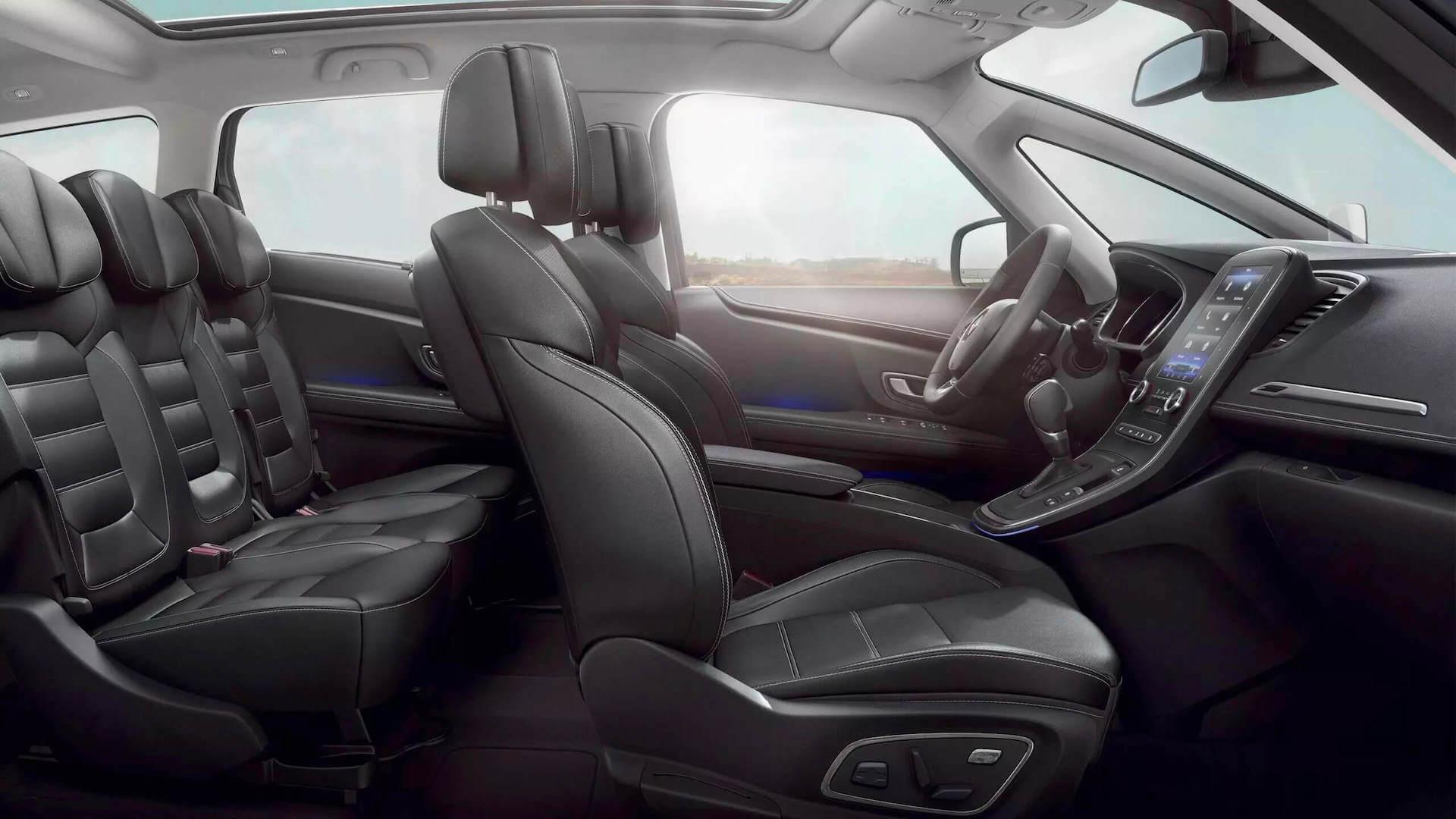 Autoansicht vom Innenraum - Renault Scenic - Renault Ahrens Hannover