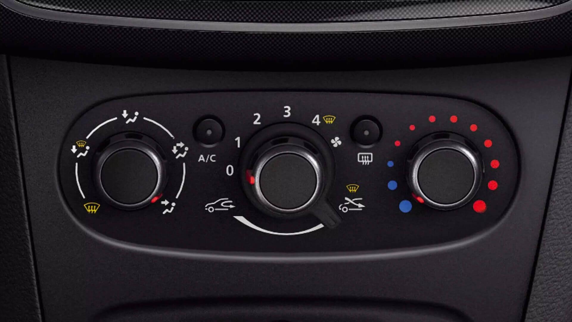 Klimasteuerung vom Auto - Dacia Lodgy - Renault Ahrens Hannover
