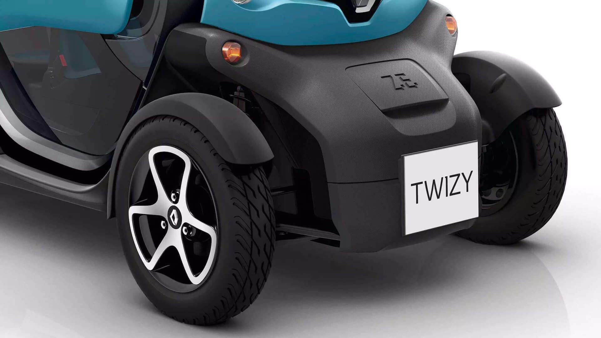 Raddesign vom Auto - Renault Twizy - Renault Ahrens Hannover