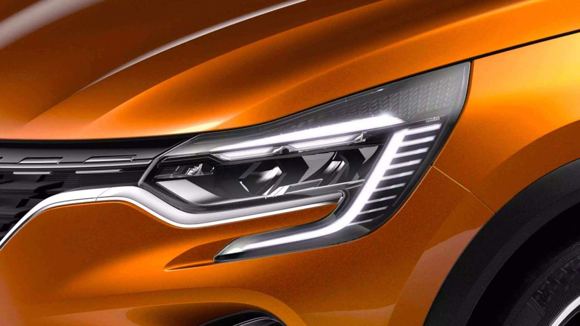 Scheinwerfer vom Auto - Renault Captur - Renault Ahrens Hannover