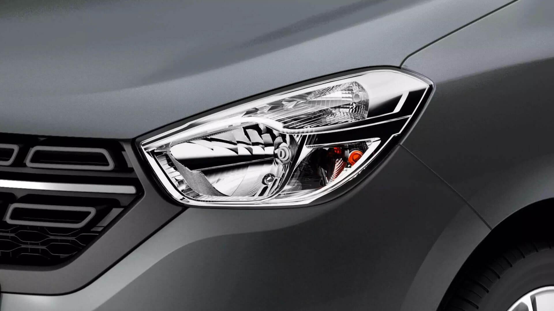 Scheinwerferdesign vom Auto - Dacia Lodgy - Renault Ahrens Hannover
