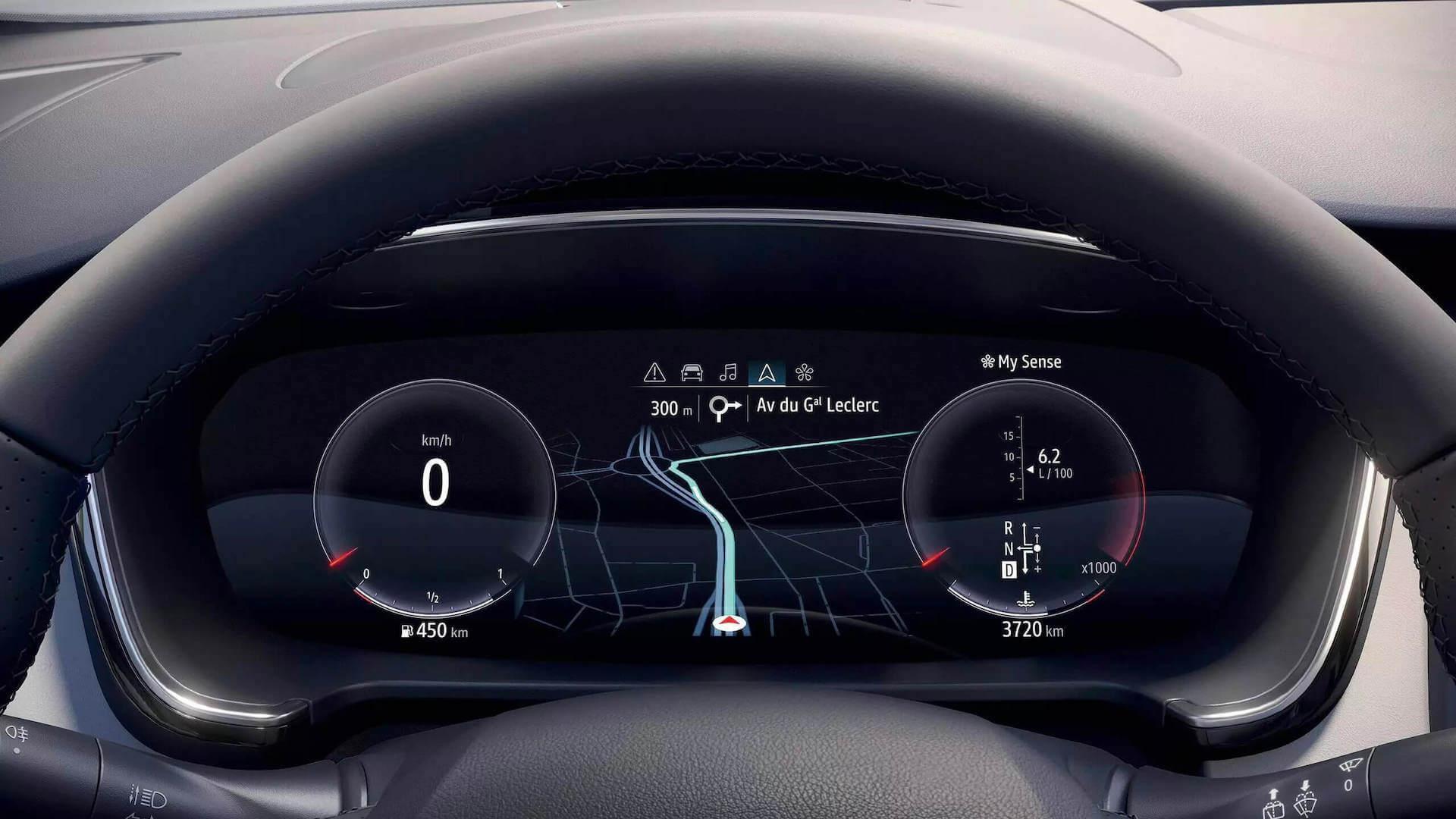 Tachoeinheit vom Auto am Lenkrad - Renault Talisman - Renault Ahrens Hannover