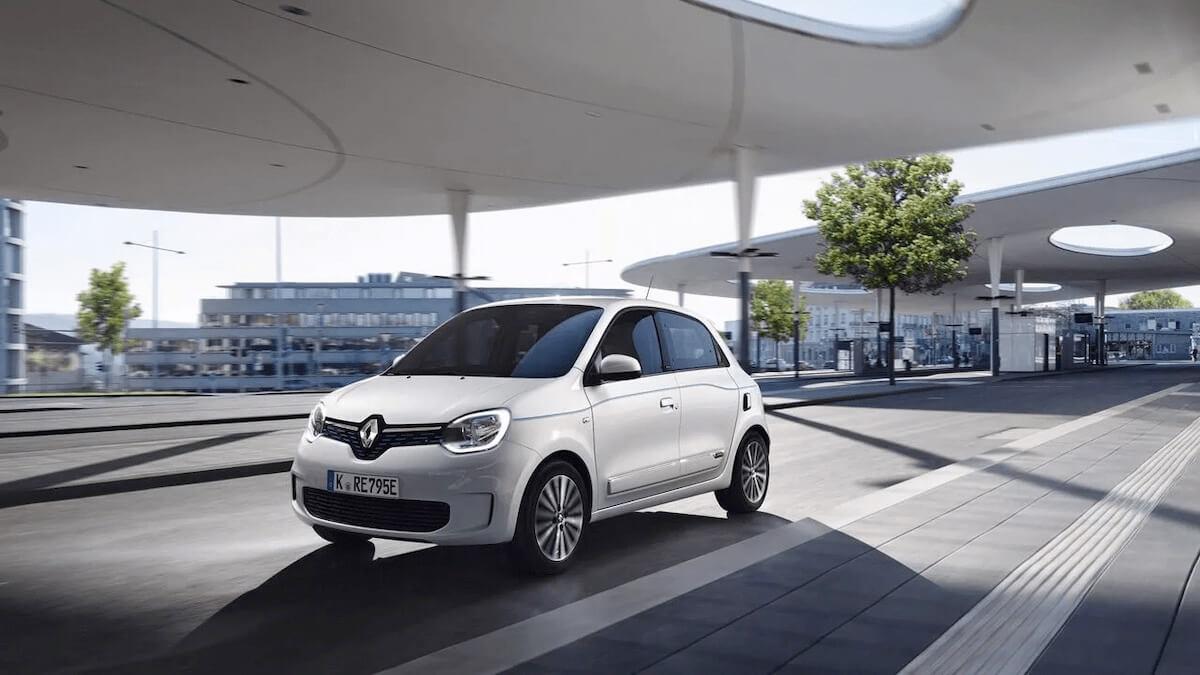 Frontansicht - Auto auf der Straße - Renault Twingo Electric - Renault Ahrens Hannover